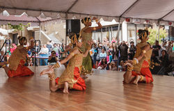Khmer Cambodjaanse Dansers Royalty-vrije Stock Fotografie