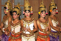 Khmer classical dance Royalty Free Stock Images