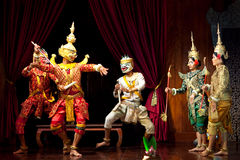 Khmer dancers, Cambodia Stock Images