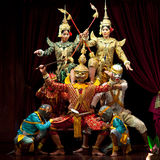Khmer dancers, Cambodia Royalty Free Stock Photo
