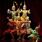 Khmer dancers, Cambodia Royalty Free Stock Photography