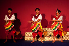 Khmer drummers, Cambodia Royalty Free Stock Image