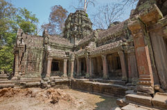 Khmer empire temple Stock Images