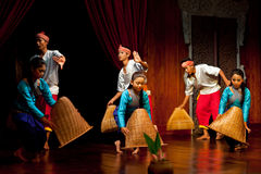 Khmer Folk Dance Royalty Free Stock Photos