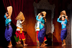 Khmer Folk Dance Royalty Free Stock Images