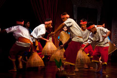 Khmer Folk Dance Royalty Free Stock Photography