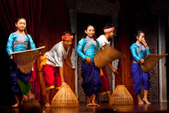 Khmer Folk Dance Stock Photos