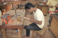 Khmer handicraft Royalty Free Stock Images