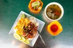 Khmer jedzenie Obraz Royalty Free