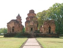 Khmer kasztel fotografia royalty free
