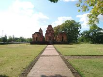 Khmer kasztel obrazy stock