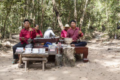 Khmer musicians Stock Photography