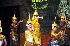 Khmer performance Royalty Free Stock Images