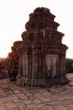 Khmer ruïnes Angkor Wat, Kambodja. Stock Fotografie