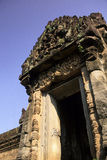 Khmer ruin- Angkor, Cambodia Royalty Free Stock Photo
