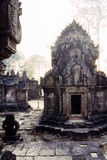 Khmer Ruins- Angkor Wat, Cambodia. Royalty Free Stock Photo