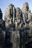 Khmer ruins- Angkor Wat, Cambodia. Royalty Free Stock Photos