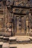 Khmer ruins- Angkor Wat, Cambodia. stock photography