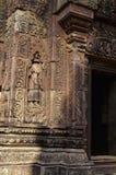 Khmer ruins- Angkor Wat, Cambodia. Stock Images