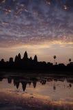 Khmer ruins- Angkor Wat, Cambodia. Stock Image