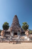 Khmer ruins in thailand. Temple khmer ruins in thailand Royalty Free Stock Image