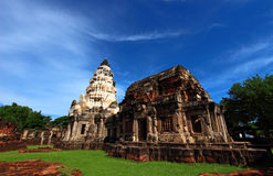 Khmer sanctuary Royalty Free Stock Photos