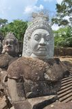 Khmer statue Stock Photography