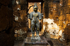 Khmer steenkastelen Stock Afbeelding