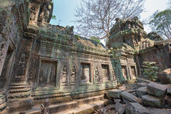 Khmer stone building Stock Image