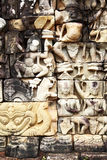 Khmer stone carving Stock Photos
