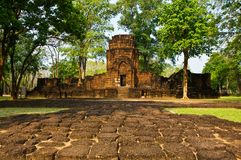 Khmer stone castles Royalty Free Stock Photography