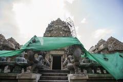 Khmer style temple, Koh Pha Ngan, Thailand Stock Image