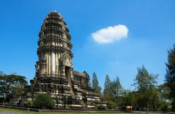 Khmer Tempel. Stock Foto's