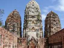 Khmer Temple. A Khmer Temple in Thailand stock image