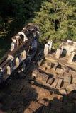 Khmer temple- Angkor, Cambodia Stock Image