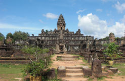 Khmer temple in Angkor Wat Stock Images