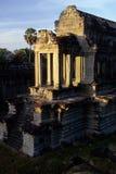 Khmer temple- Angkor Wat ruins, Cambodi Royalty Free Stock Image