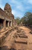 Khmer temple at Bayon Royalty Free Stock Photo