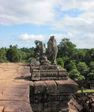 Khmer temple detail Stock Photos