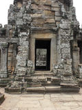 Khmer temple detail Royalty Free Stock Image