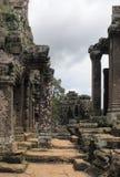 Khmer temple detail Royalty Free Stock Photo