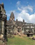 Khmer temple detail Stock Image