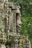 Khmer temple detail Royalty Free Stock Photos
