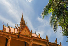 Khmer temple in An Giang. Vietnam. An Giang is home to many religious Khmer people Stock Photo