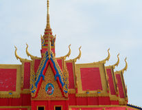 Khmer temple in Mekong Delta, Vietnam Royalty Free Stock Photo