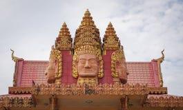 Khmer temple in Mekong Delta, Vietnam Stock Image