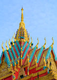 Khmer temple in Mekong Delta, Vietnam Royalty Free Stock Photography