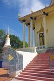 Khmer temple in Phnom Penh Stock Photo