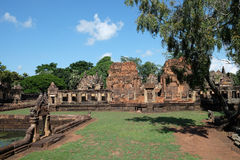 Khmer Temple Prasat Mueang Tam Stock Photos