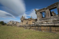 CAMBODIA SRA EM PRASAT PREAH VIHEAR KHMER TEMPLE royalty free stock photos